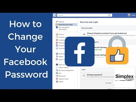 Change Facebook Password today and stay secure - Make sure