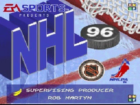 NHL '96 Game intro