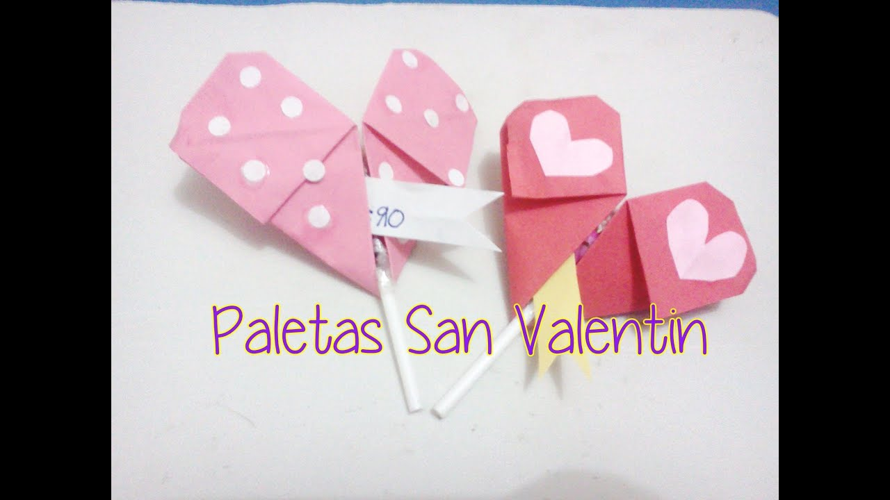 Decora tus paletas para san valentin con nota youtube for Paletas de cocina decoradas