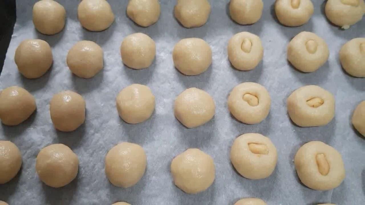 Cách làm bánh bột đậu phộng thơm mềm mịn