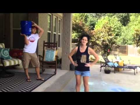 Kate Moore's Ice Bucket Challenge