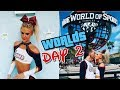 WORLDS VLOG 2017: Day 2 Semi-Finals & Retiring from Cheer 🌎