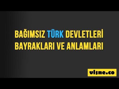 Bağımsız Türk Devletleri Bayrakları ve Anlamları