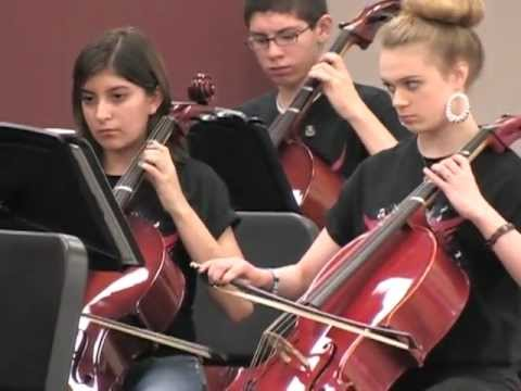 Allegro in D for Strings by Ulrich Intermediate School Chamber Orchestra May 2012