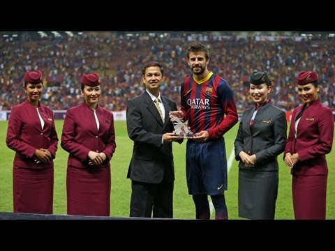 """FC Barcelona - Gerard Piqué: """"We're adapting to what the boss wants"""""""