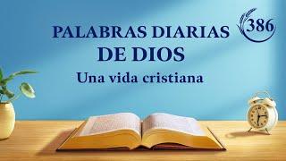 Palabras diarias de Dios | Fragmento 386