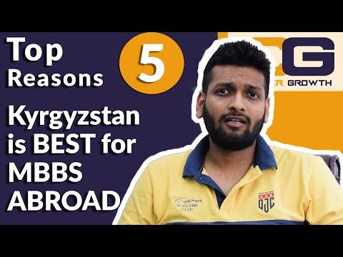 5 Reasons to study MBBS In Kyrgyzstan