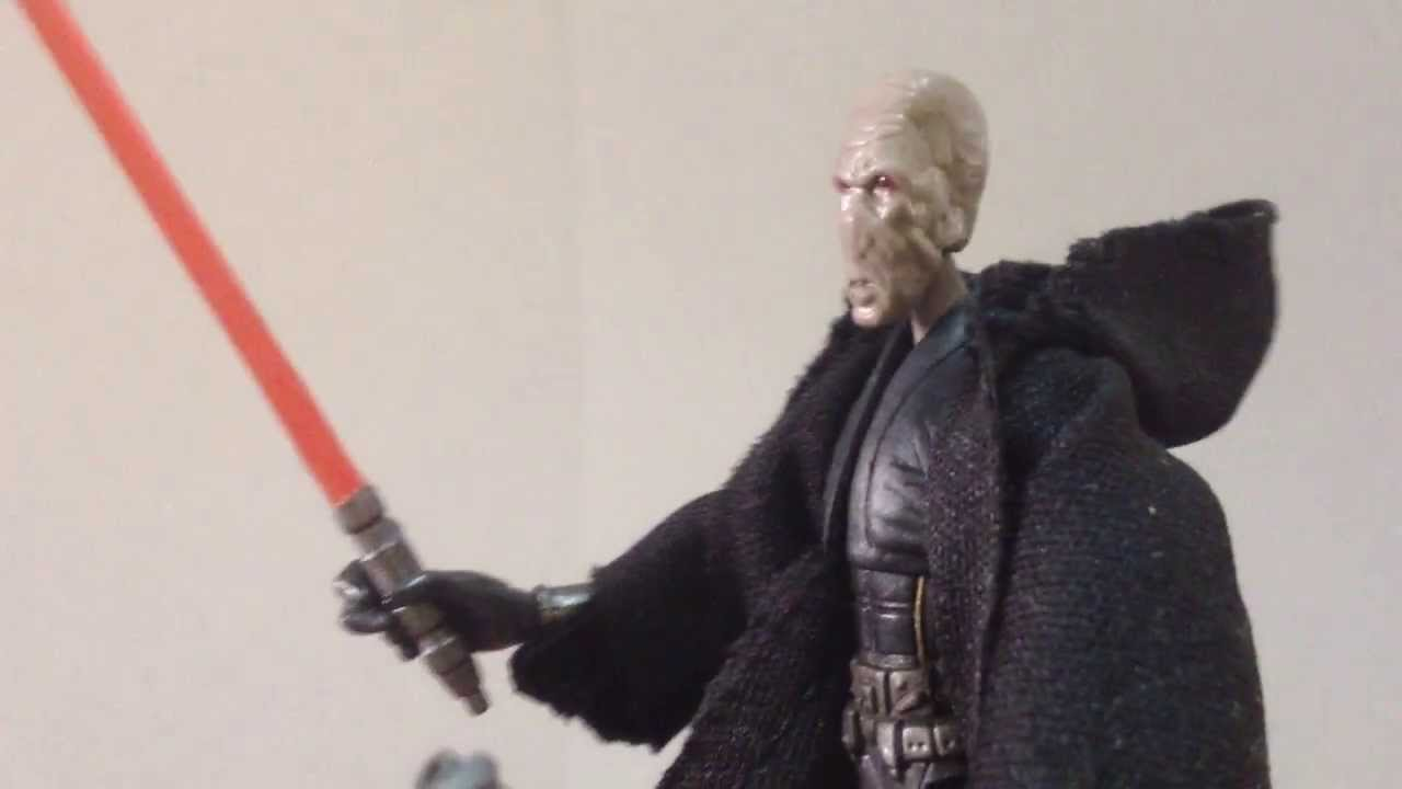 Darth Plagueis; The Black Series - YouTube
