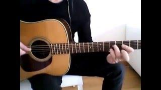 Гитара акустика - Pink Floyd