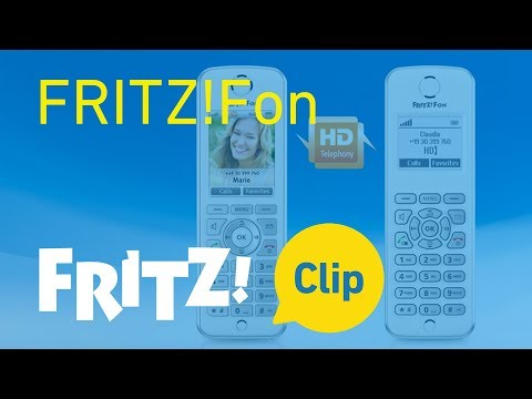 FRITZ! Clip – Configuring FRITZ!Fon and learning its features
