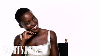 Talking to Lupita Nyong'o Behind the Scenes of our Hollywood Issue Cover Shoot