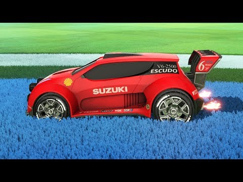 The Greatest Car is now in Rocket League... *car mod* thumbnail