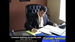 Florida Criminal Defense & Family Law Lawyer, Gerald Salerno