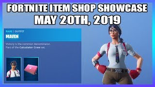 MAVEN SKIN IS BACK! (Fortnite Item Shop 20th May)