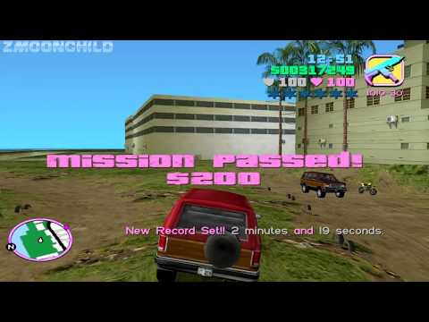 GTA Vice City - Test Track