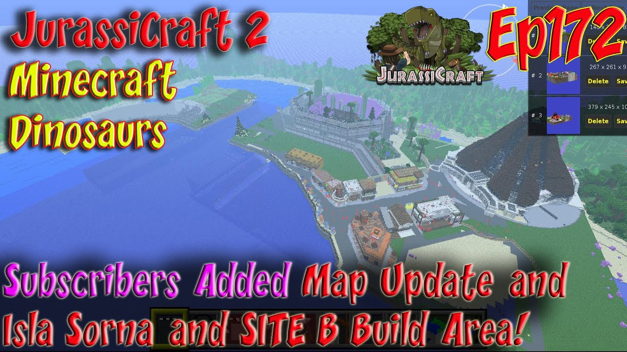 Jurassicraft 20 jurassic world ep172 subscriber new isla nublar jurassicraft 20 jurassic world ep172 subscriber new isla nublar isla sorna maps and build gumiabroncs Image collections