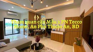 Căn hộ 2 phòng ngủ Tecco Home, An Phú, Thuận An, Bình Dương - Nhận SH mode