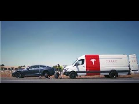 Tesla mobile repair good news for owners bad news for parts stores like napa.