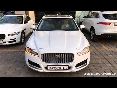 Jaguar XF 20t Prestige X260 2018 | Real-life review