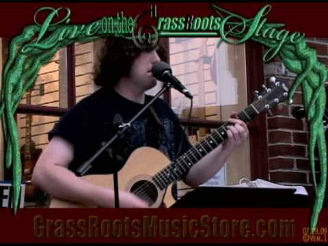 Live on the GrassRoots Stage - Adam Shaber
