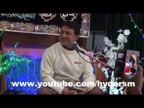 Zafar Abbas Zafar in JASHNE AHLULBAITH (a.s) 12th-SHABAN MELBOURNE PANJTAN IMAM BARGAH part 5