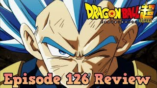 Dragon Ball Super Episode 126 Review: Surpass Even a God! Vegeta's Life-Risking Blow!! thumbnail