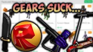Gears on ROBLOX Are Useless