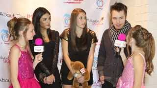 Matthew Fahey of Awkward on MTV,  Christina Squyres and Cancer Survivor Bella at Star For A Night
