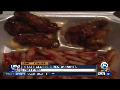 Dirty Dining: Problems found at 3 Fort Pierce restaurants