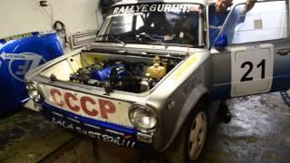 Rallye Guru Team . Autó felkészítése a versenyre. Thumbnail