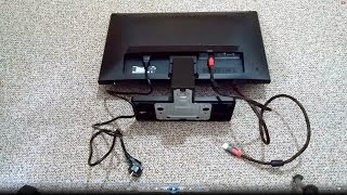 benq gw2270h monitor unboxing quick review 1080p 60hz led hdmi vga