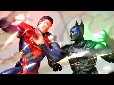 Batman VS Superman Unboxing Stop Motion