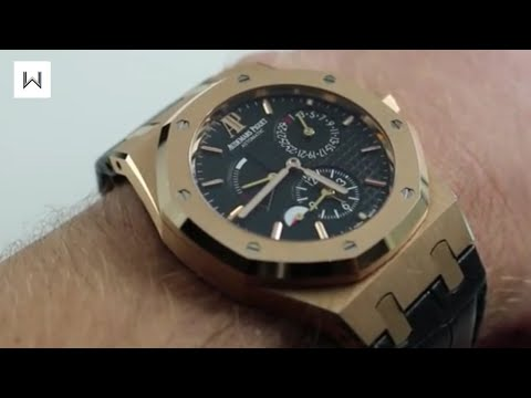 Audemars Piguet Royal Oak Dual Time 26120OR Luxury Watch Review