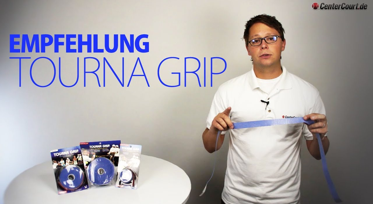 Tourna Grip 3er Griffb/änder f/ür Tennis