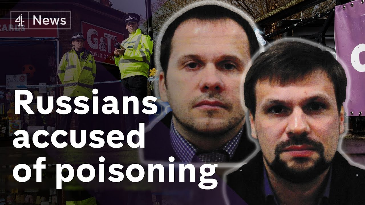 Salisbury poisonings: two Russian suspects named