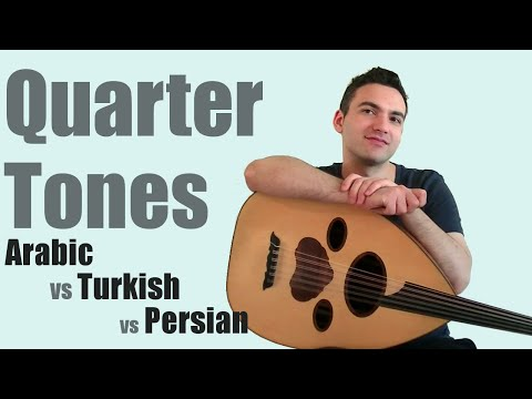 The Difference Between Quartertes in Persian, Arabic, and Turkish Music