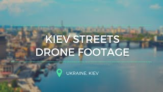 Streets of Kiev. Drone edition.