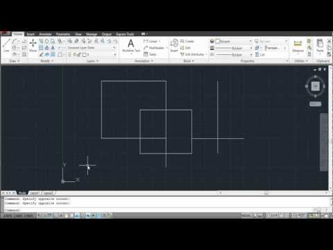 How to Trim in AutoCAD