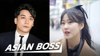 vuclip Koreans React To Seungri's Retirement From Big Bang & K-pop Sex Scandal | ASIAN BOSS