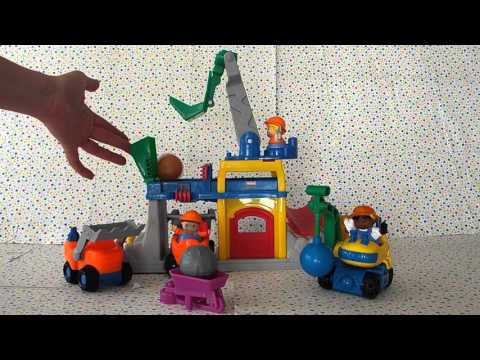 Fisher Price Little People Crane N Quarry