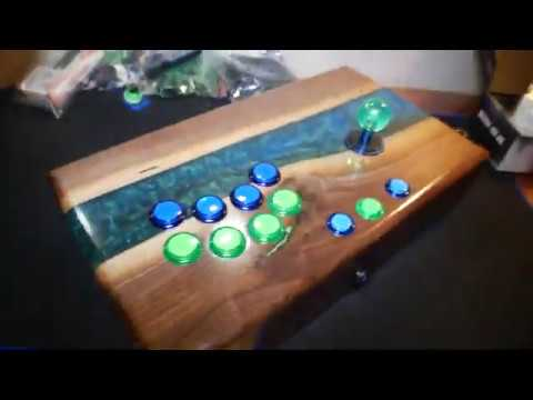 DIY Arcade Stick – Walnut & Epoxy Resin