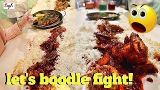 DAMPA Seafood Village in Qatar | Ultimate BOODLE Fight Experience in Doha