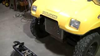 "2003 Polaris Ranger 500 6x6 ""extreme Brush Guard Install"""