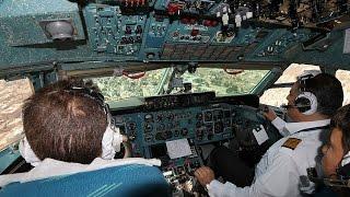 HD cockpit landing footage of Antonov An-74 Pouya Air into Tehran Mehrabad