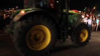 Konya'da Traktörler Darbeye Dur Dedi