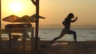 Yoga, batık gemi macerası, şişe sanatı, Bozcaada Kalesi ve yıldızlı geceler - VLOG 17