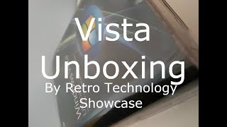 Windows Vista Ultimate Unboxing in 2019