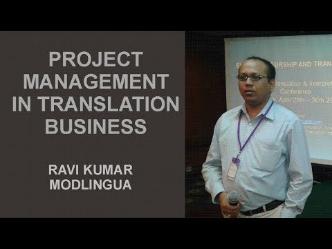 Project Management  in Service Industry including language a
