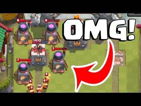 WHAT IS HE DOING?! 4 FURNACES?? | Clash Royale Graveyard + Ice Golem