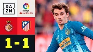 Eigentor rettet Antoine Griezmann und Co. Punkt: Girona - Atletico Madrid 1:1 | LaLiga | Highlights